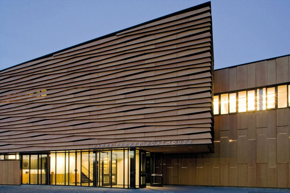 Prodex: Revestimientos para exterior con chapa de madera natural ...