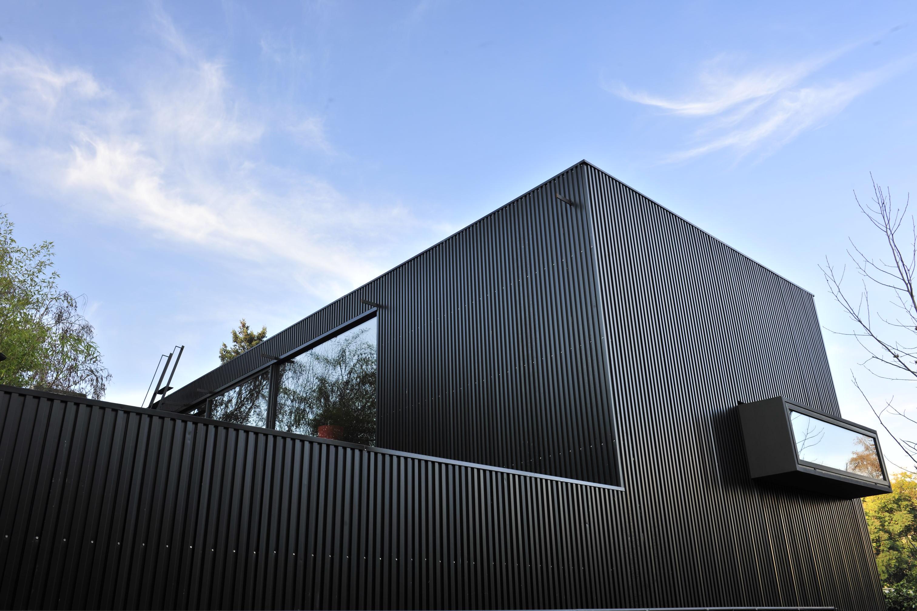 Paneles screen basa arquitectura y dise o - Recubrimiento de fachadas ...