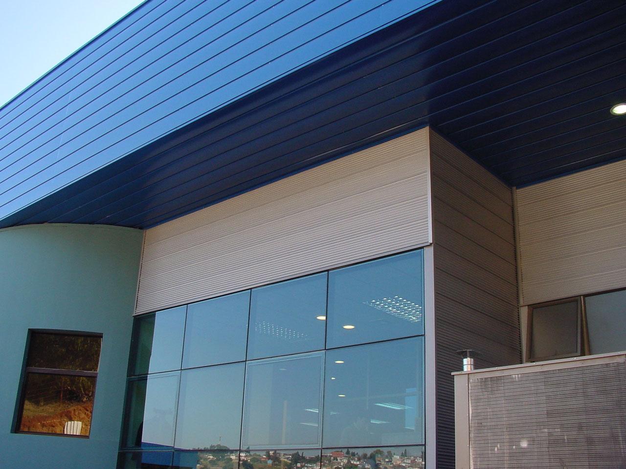 Fachadas industriales basa arquitectura y dise o - Empresas de fachadas ...