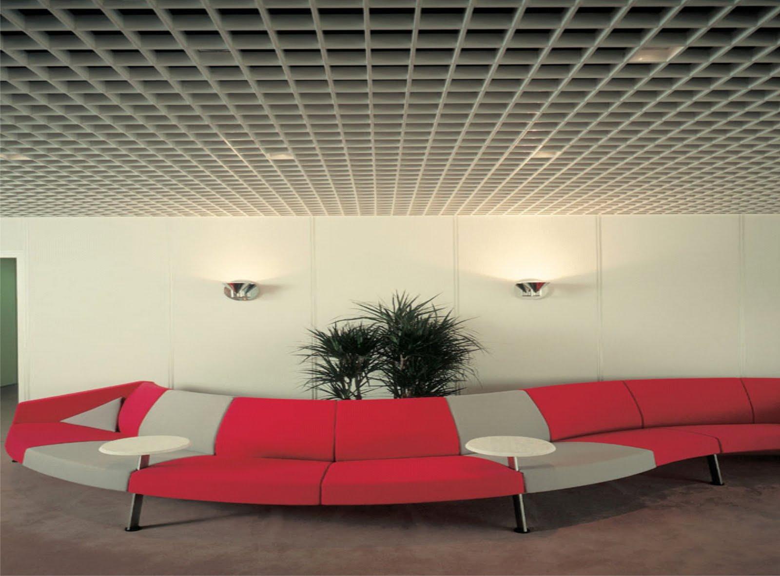 Plafones met licos basa arquitectura y dise o for Plafones de pared exterior