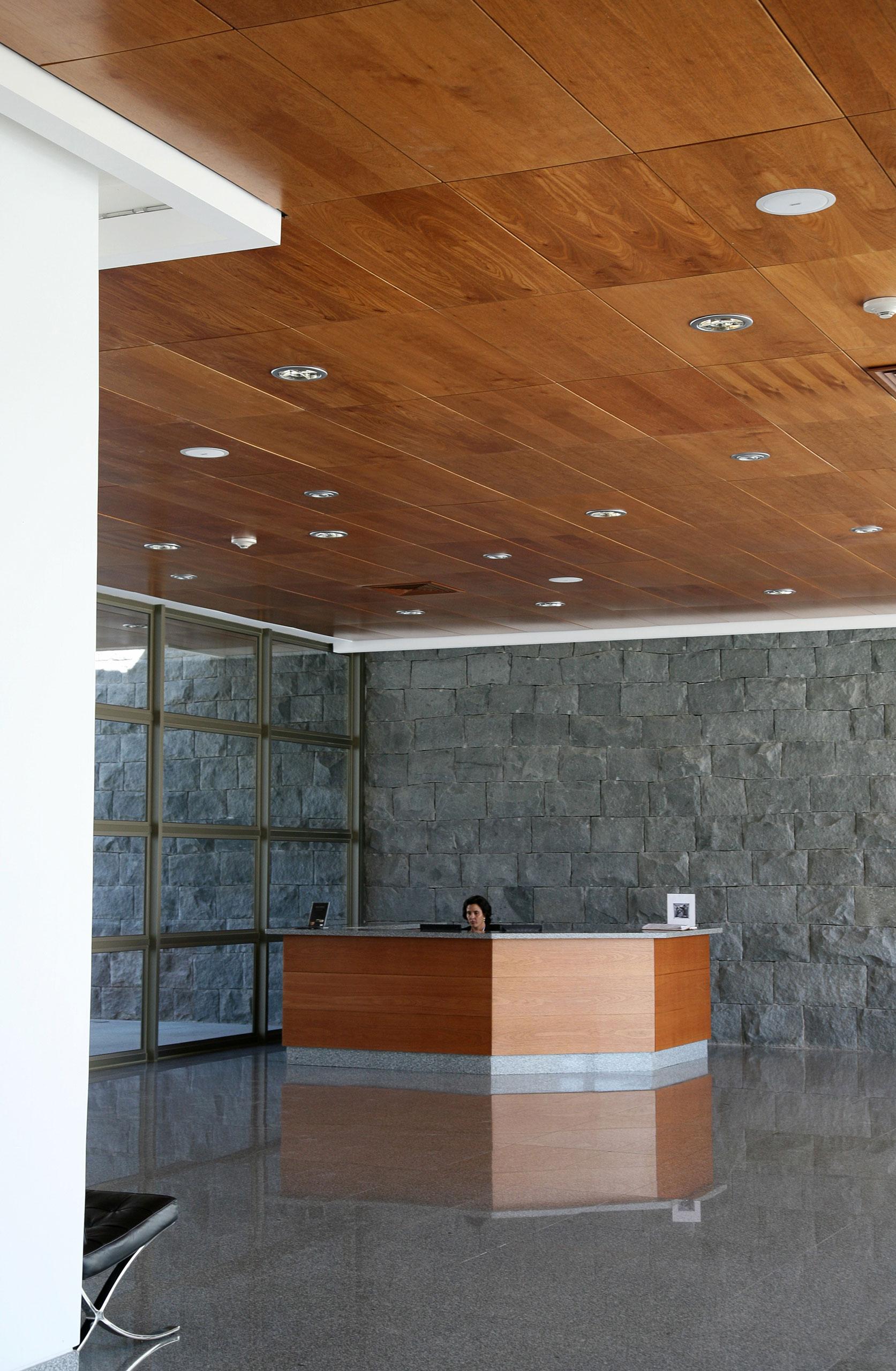 Natura basa arquitectura y dise o for Plafones de pared para escaleras